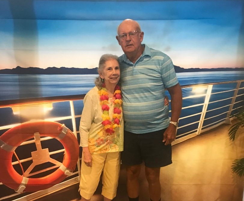 Myrtle Beach Manor resident couple on a cruise