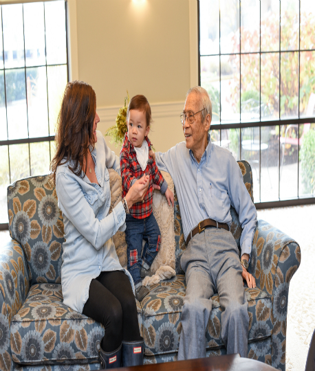 Engaging Activities When Grandkids Visit Assisted Living