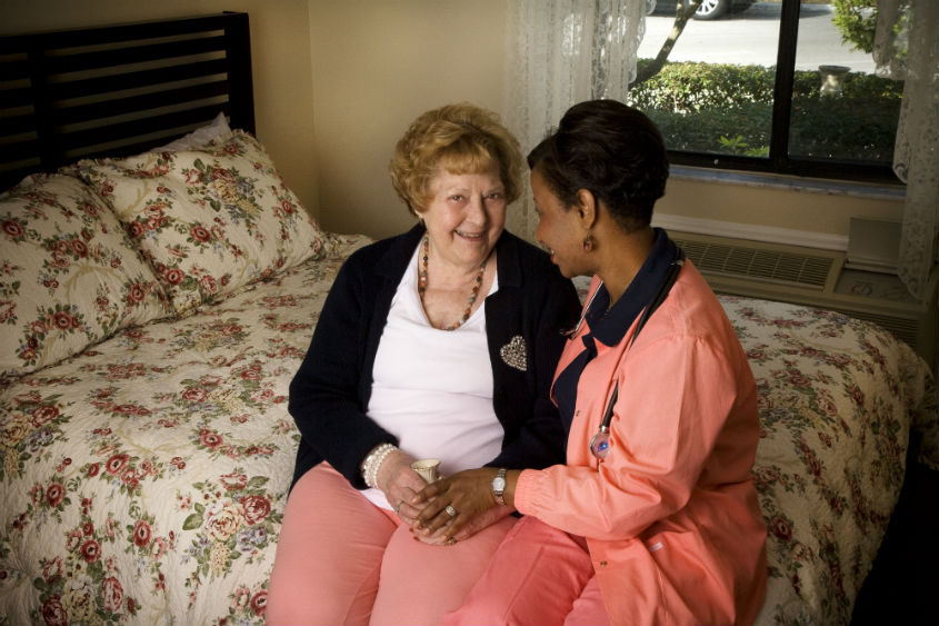 Providing Support with Personal Care While Protecting a Senior's Dignity